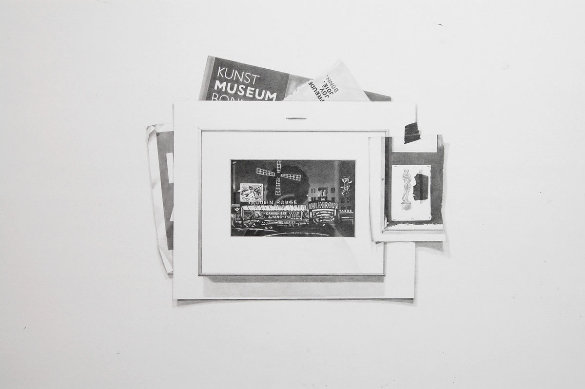 Record 4 (Pamphlets and Photograph from the Kunstmuseum Bonn)