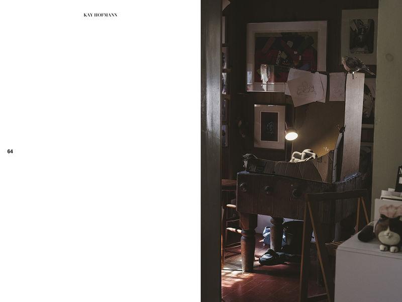 Patron Gallery   Press   Kay Hofmann: The Stone Cutter